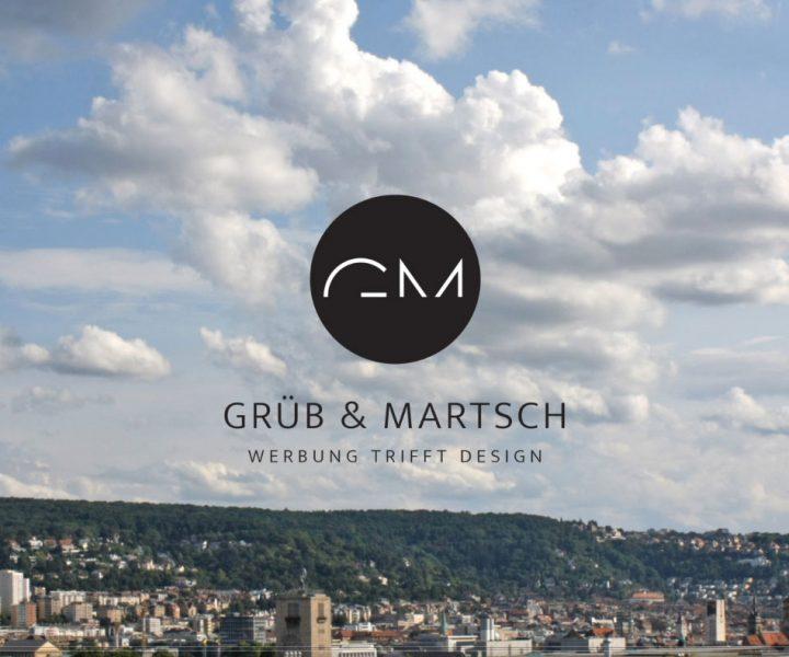 WERBEAGENTUR STUTTGART | GRÜB & MARTSCH Die Werbeagentur Grüb & Martsch aus Stuttgart legt Wert auf Regionalität und Nähe zum Kunden, damit Projekte zielgerichtet, unkompliziert und effizient umgesetzt werden können.