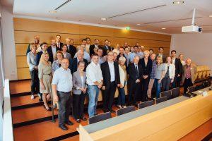 Gruppenbild HGV-Sitzung mit Fritz Kuhn